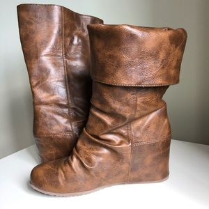 Call It Spring wedge boots